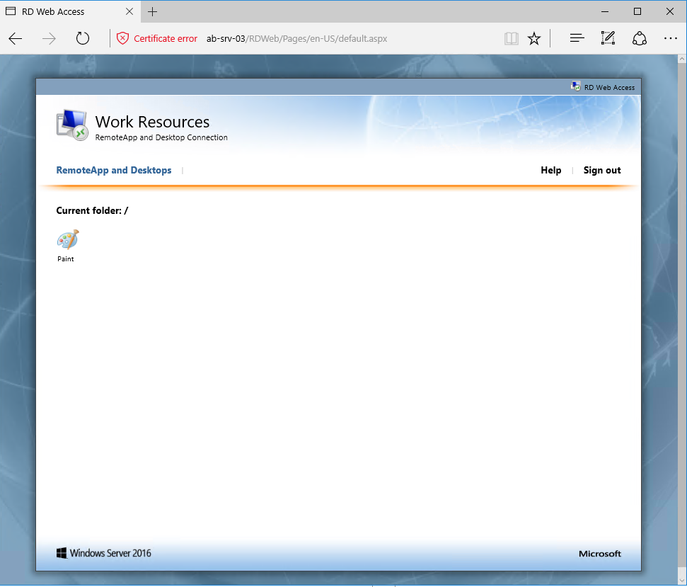 RDS-WebSite-Apps