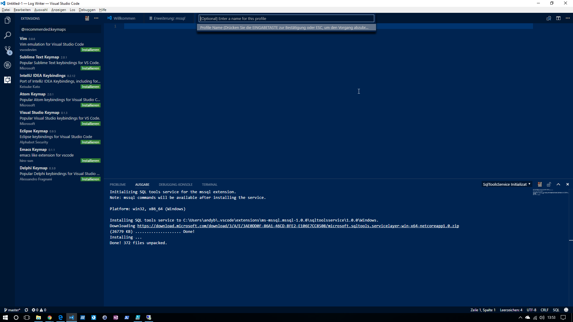 azure_sql_create_conprofile_08